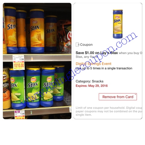 Lays stax coupons