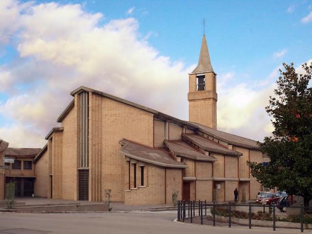 La chiesa di Mussetta di Sotto