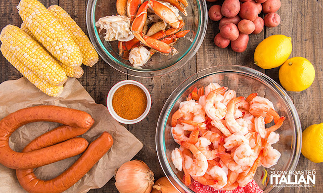 Low country boil recipe ingredients