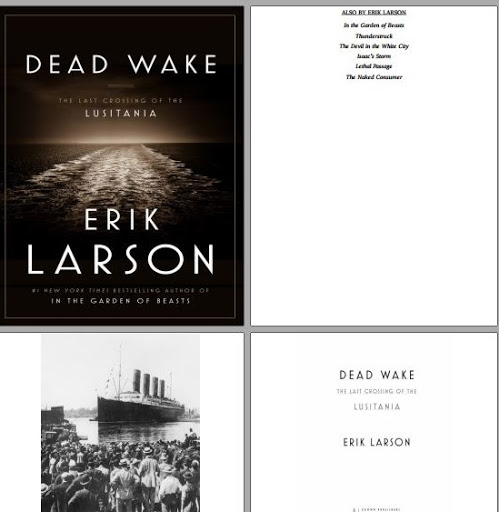 download Dead Wake Erik Larson book pdf