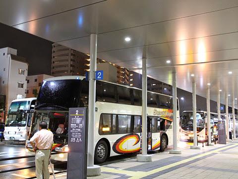 四国高速バス「ハローブリッジ号」 高松駅高速BT改札中
