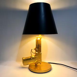 Flos X Starck Guns Bedside Lamp