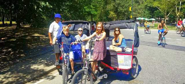 Central Park Tours by Pedicabs