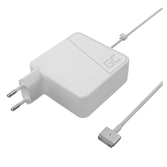 Green Cell Charger for Apple Macbook 60W 16.5V 3.65A (plug Magsafe 2)