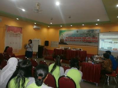 Duta Sepuluh Kecamatan di Kapuas Ikuti Pelatihan Gabungan Program GSC