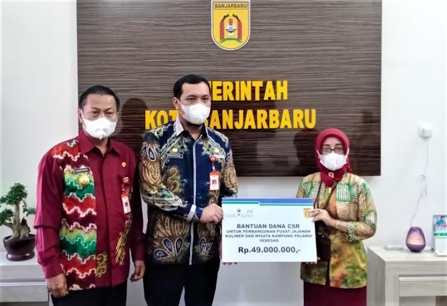 Di Tengah Pandemi, CSR Bank Kalsel Sokong Eksistensi UMKM Banjarbaru