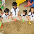 Sand Play (Nursery) 21-7-14