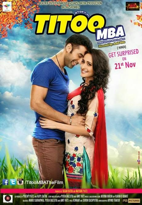 Poster Of Hindi Movie Titoo MBA (2014) Free Download Full New Hindi Movie Watch Online At Alldownloads4u.Com