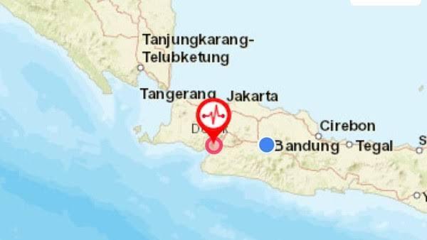 Gedung BNPB di Jakarta Goyang Selama 20 Detik karena Gempa Sukabumi