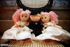Foto 2767. Marcadores: 17/07/2010, Boneca Daminha, Casamento Fabiana e Johnny, Rio de Janeiro