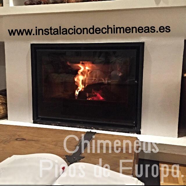 Chimeneas picos de europa decoraci n de chimenea con - Chimeneas con cassette ...
