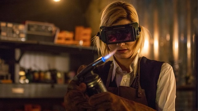 The Doctor in Her Workshop