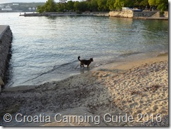 Croatia Camping Guide - Ostro Beach