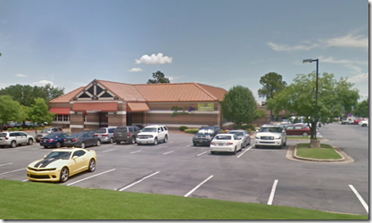 Olive Garden, North Little Rock, from Google Maps