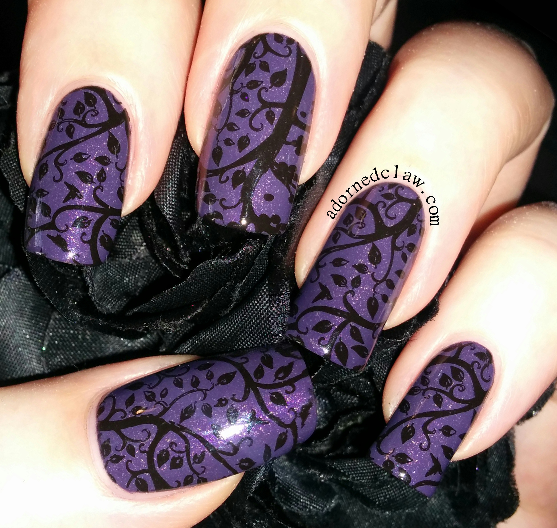 30 Top Mysterious Dark Purple Nails 2018 Styles - Hairstyles 19