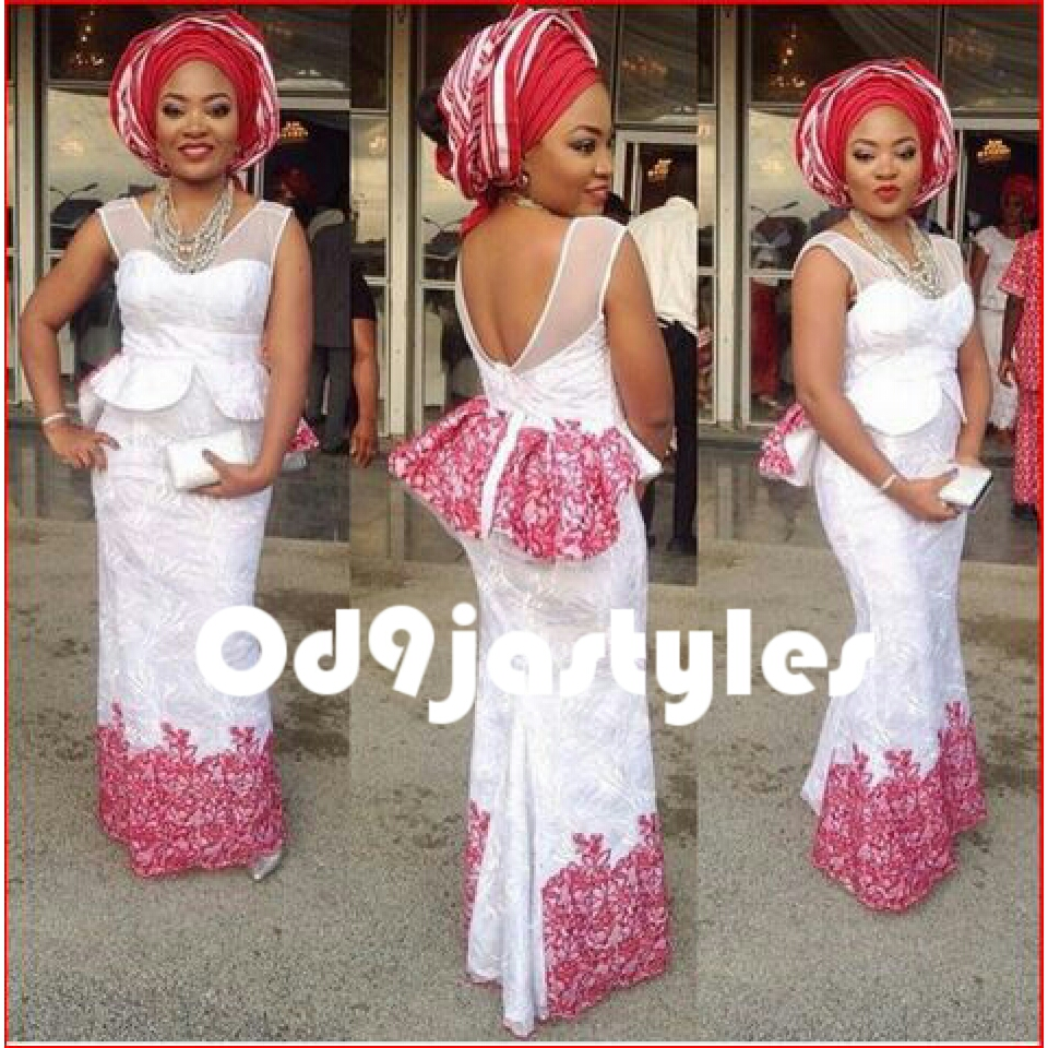 We Trust That These Lovely Styles Below Will Motivate You And To Discover Their Way Your Most Recent White Aso Ebi Lace Have Some Good Fun