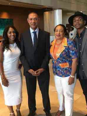 Photos: Ben Bruce & Family At BET Awards
