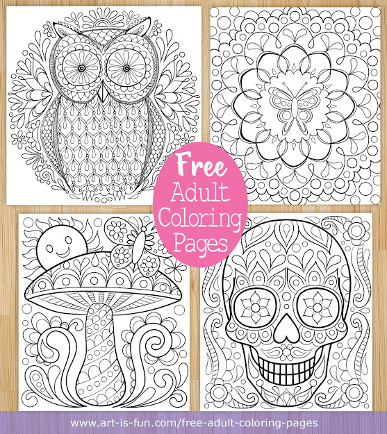 Free Printable Adult Coloring Pages By Thaneeya Mcardle Httpart