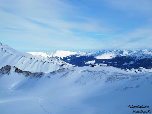 Schi in Austria. Peisaje din Penken