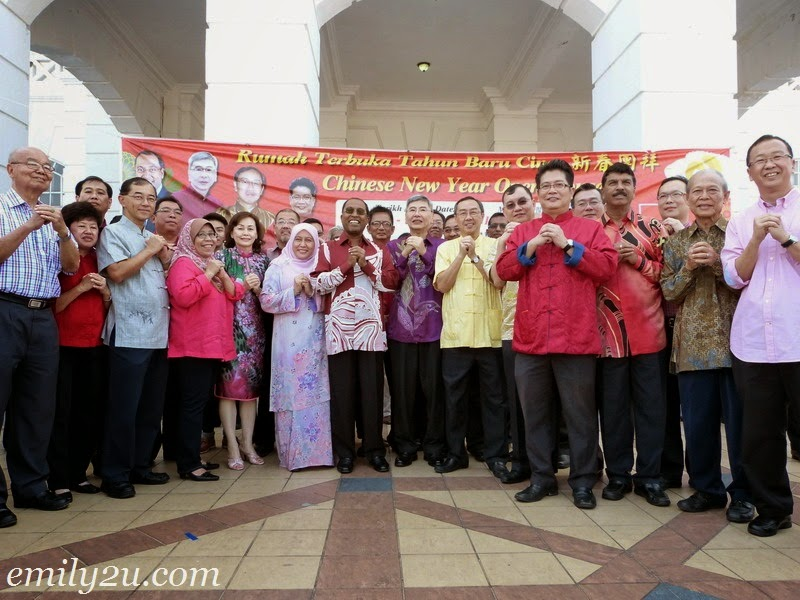 Perak Gerakan 2015 Chinese New Year Open House