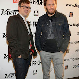 WWW.ENTSIMAGES.COM -  Directors  Kevin Kolsch and Dennis Widmyer  (Postcards from the Future) arriving at STARRY EYES premiere   DAY 3 -  Film 4  FrightFest at Vue West End London August 23rd  2014                                                Photo Mobis Photos/OIC 0203 174 1069