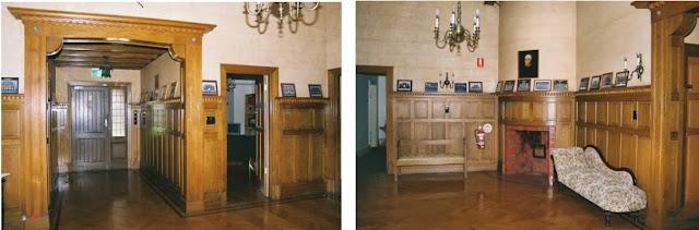 Karrawood, vestibule, main hall