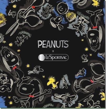 Peanuts X LeSPORTSAC 01