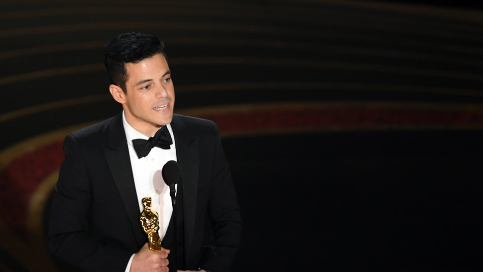 Image result for Rami Malek 2019 oscars