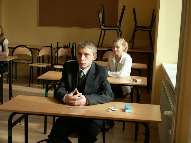 Pierwszy egzamin gimnazjalny w ZS nr 2 w Dukli 2011 - PICT1357_1.JPG