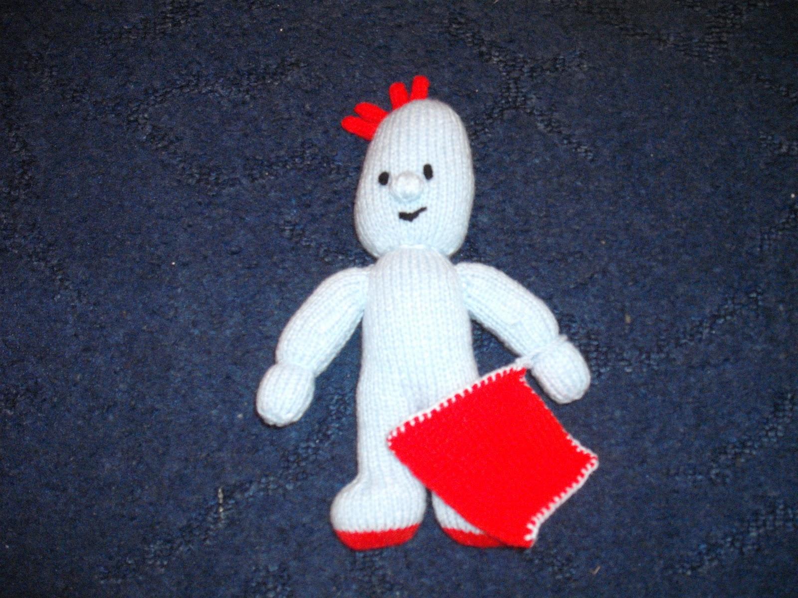 Knitting Pattern For Iggle Piggle Toy : mrs eviltedi: Iggle Piggle