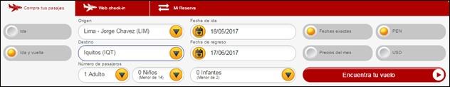 Abrir mi cuenta Viva Air Peru - 788