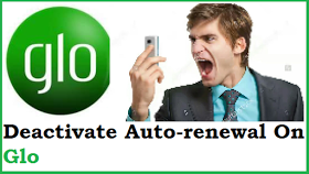 how to deactivate glo data autorenewal