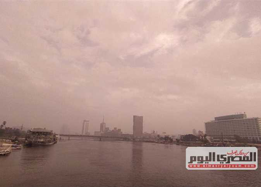 درجات الحرارة المتوقعة غدا  وأمطار متوسطة على الوجه البحري