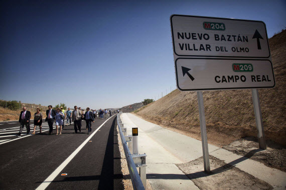Estudio de tráfico en las carreteras madrileñas en 2014