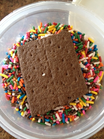 graham cracker sprinkles