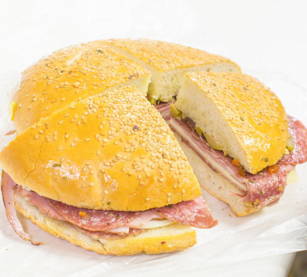photo of Muffuletta from Central Grocery