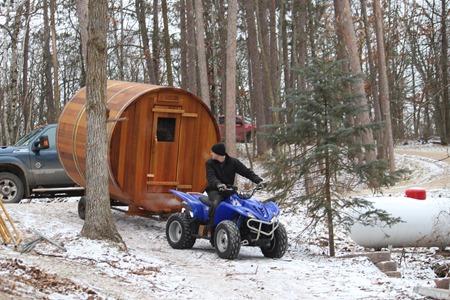 sauna delivery 2