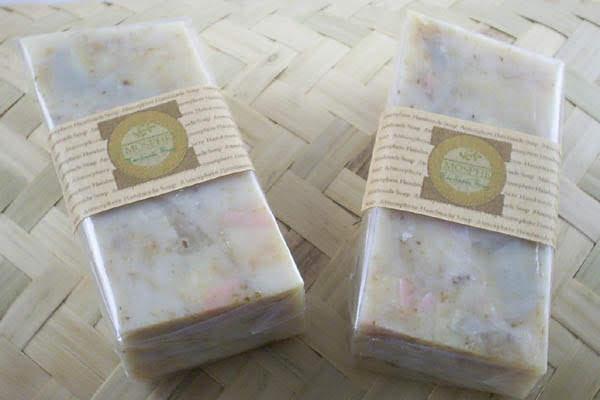 柑橘米糠皂