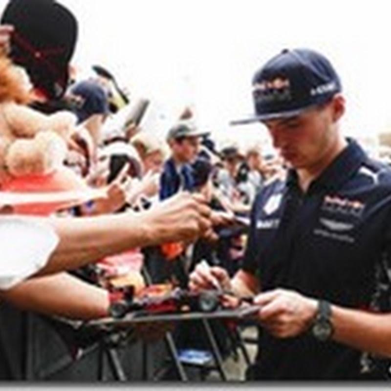 Verstappen rinnova con Red Bull