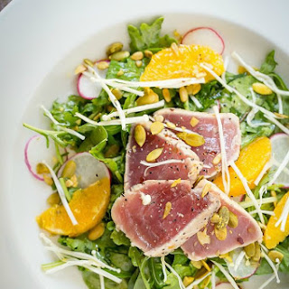 Seared Ahi Tuna Salad
