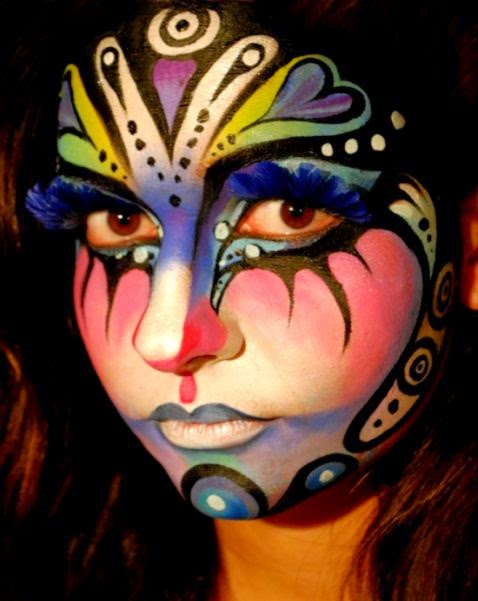 Body Paint Face  Body Art Pictures