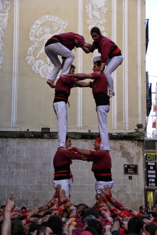 19è Aniversari Castellers de Lleida. Paeria . 5-04-14 - IMG_9472.JPG