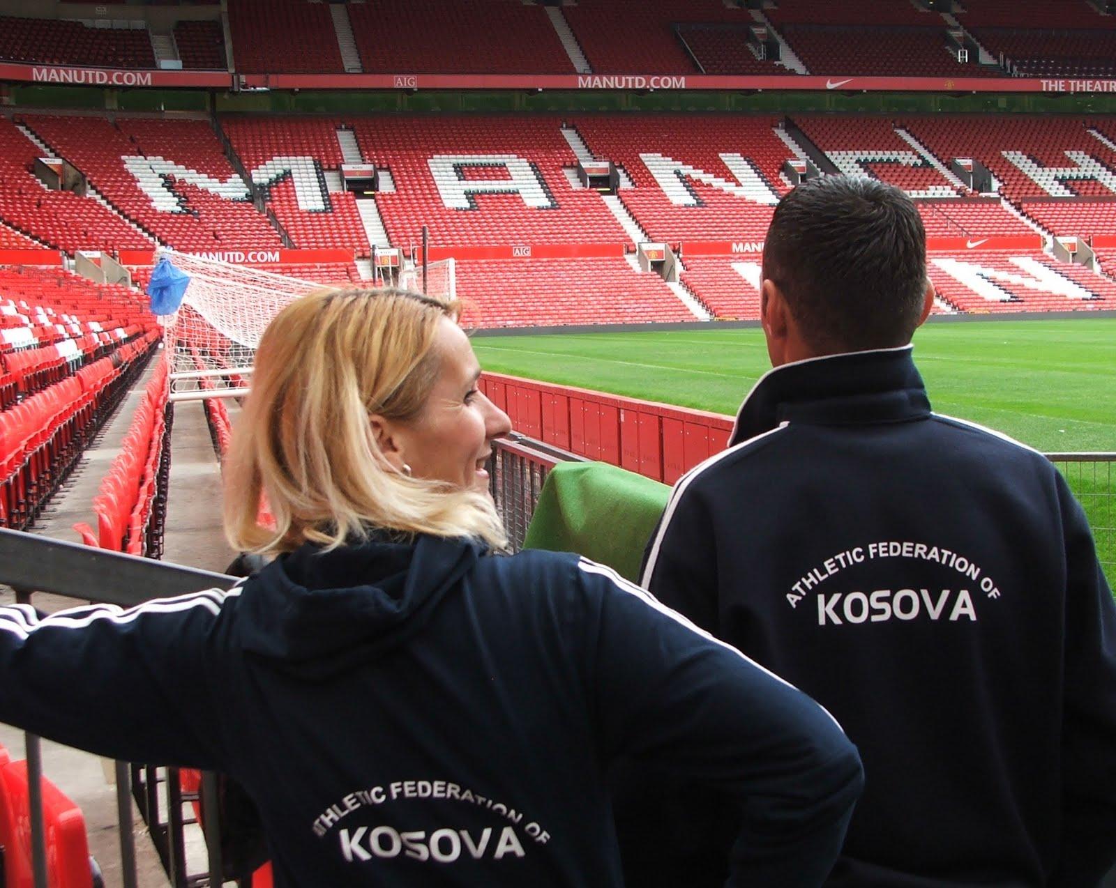 Kosovan Athletes in Manchester, 20 May 2007