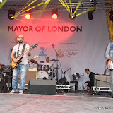 OIC - ENTSIMAGES.COM - Masar Eqbari Band at the  Eid Festival  in London 25th July 2015 Photo Mobis Photos/OIC 0203 174 1069