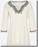 Fat Face ivory Embroidered Top - Other Colours