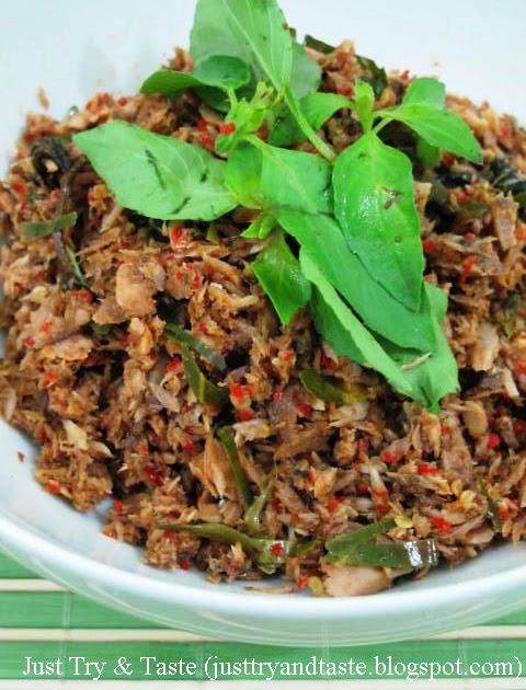 Resep Tongkol Suwir Rica-Rica | Just Try & Taste