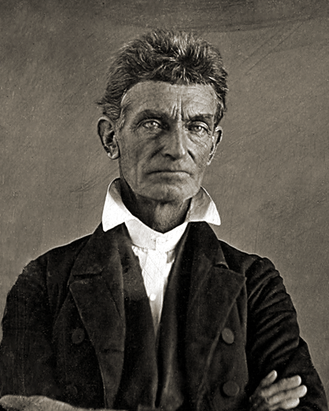 Photo: John Brown (May 9, 1800 – December 2, 1859)
