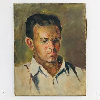 Martin Rosenthal Oil Portrait