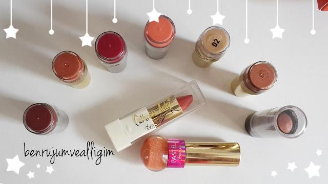 catherine arley-flormar-golden rose-pastel-ruj