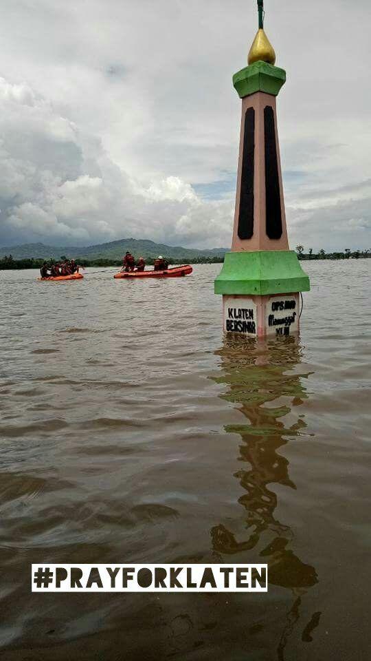 NU Klaten Tanggap Bencana